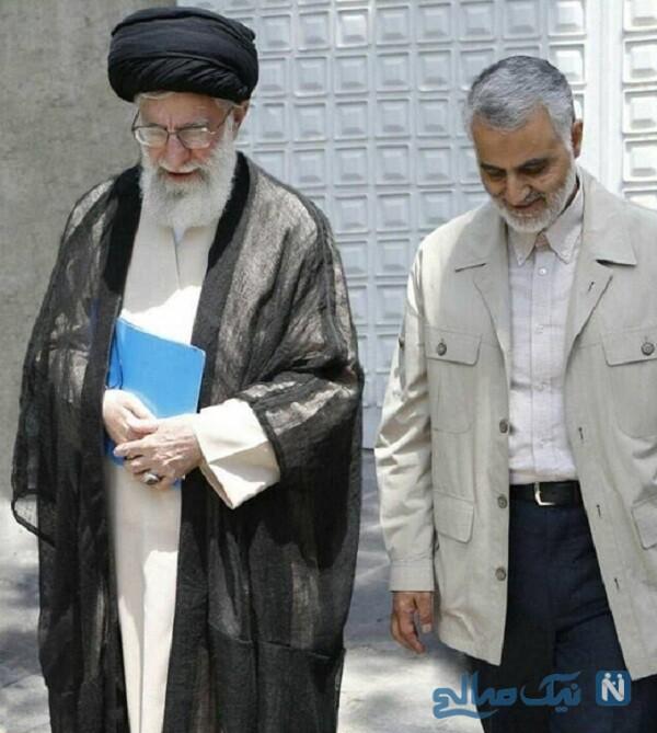 رهبر انقلاب و سردار سلیمانی