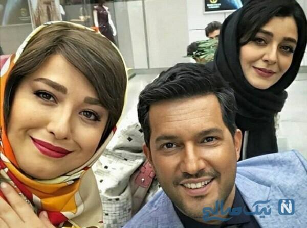 عکس جدید ساره بیات و مهراوه شریفی نیا