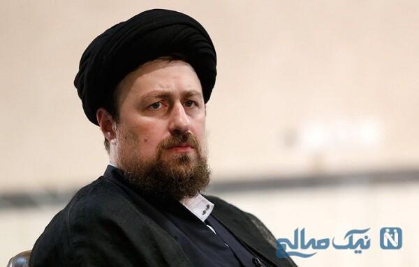تسلیت سید احمد پسر سید حسن خمینی برای عاشورای حسینی