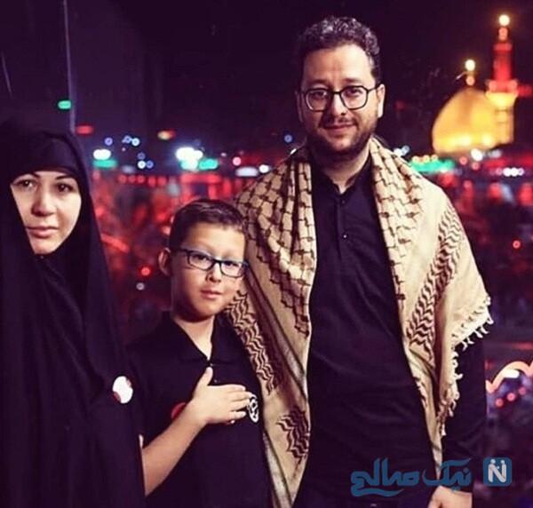 سید بشیر حسینی در اربعین و خانواده ایشان