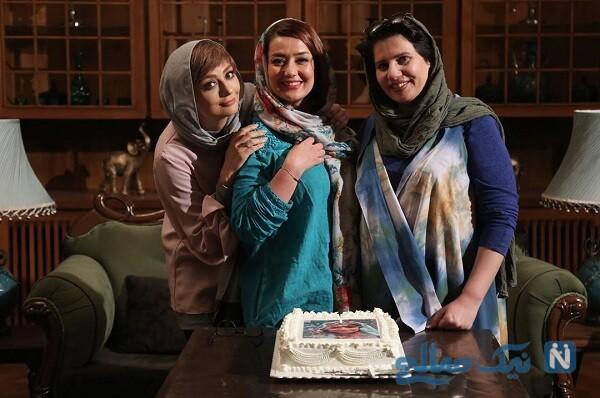 یکتا ناصر در تولد بهاره حسینی