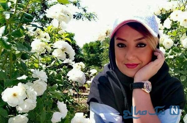 یکتا ناصر در جشن تولد بهاره حسینى منشى صحنه سریال دل