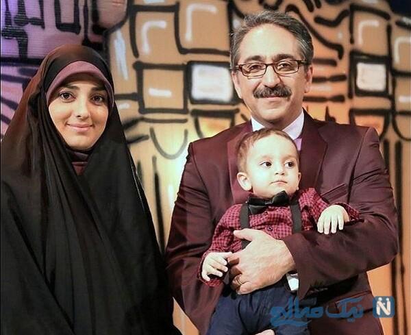 همسر و پسر شهرام شکیبا