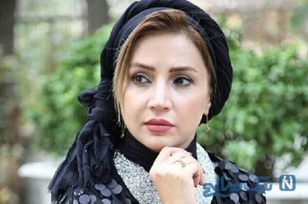 سلفی زیبای شبنم قلی خانی با لباس عروس و گوشی لاکچری اش