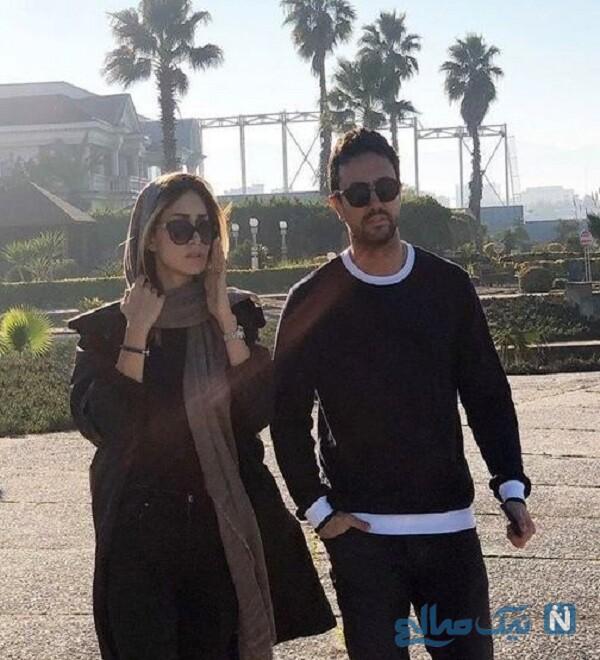 کلیپ عاشقانه شاهرخ استخری برای همسرش