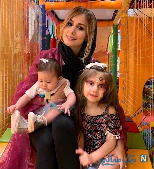 سپیده بزمی پور و دخترانش