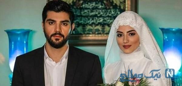 سینا مهراد و پردیس پورعابدینی در آقازاده