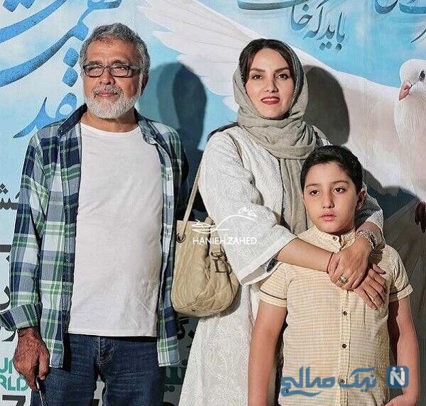 پسر مرجان شیرمحمدی و بهروز افخمی