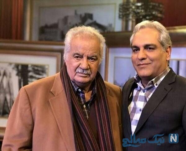 مهران مدیری و مرحوم ناصر ملک مطیعی