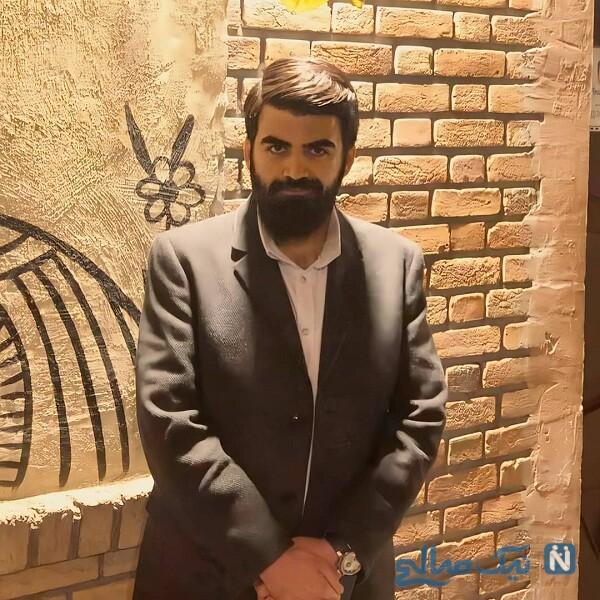 امیر علی در کلاس بازیگری مصطفی کیایی