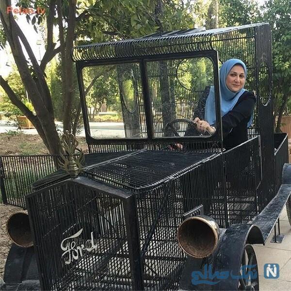 ماشین سواری خاص سوسن حسنی دخت