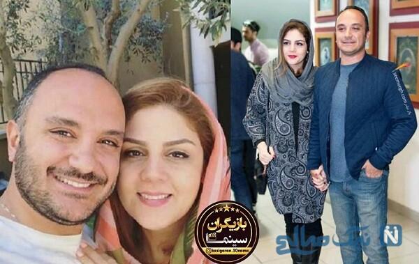 عکس بازیگران سریال هم گناه و همسرانشان