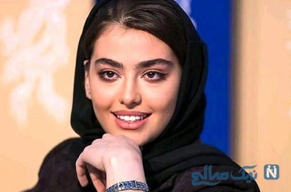 چهره جدید ریحانه پارسا تازه عروس مشهور سینما درکنار همسرش