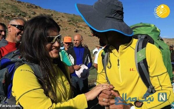 مراسم ازدواج در کوهستان