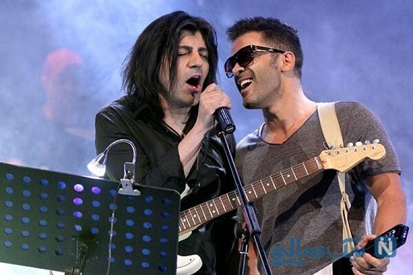 سیروان خسروی و خواننده معروف