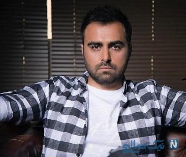 رایان سرلک بازیگر خردسال درکنار علی رهبری