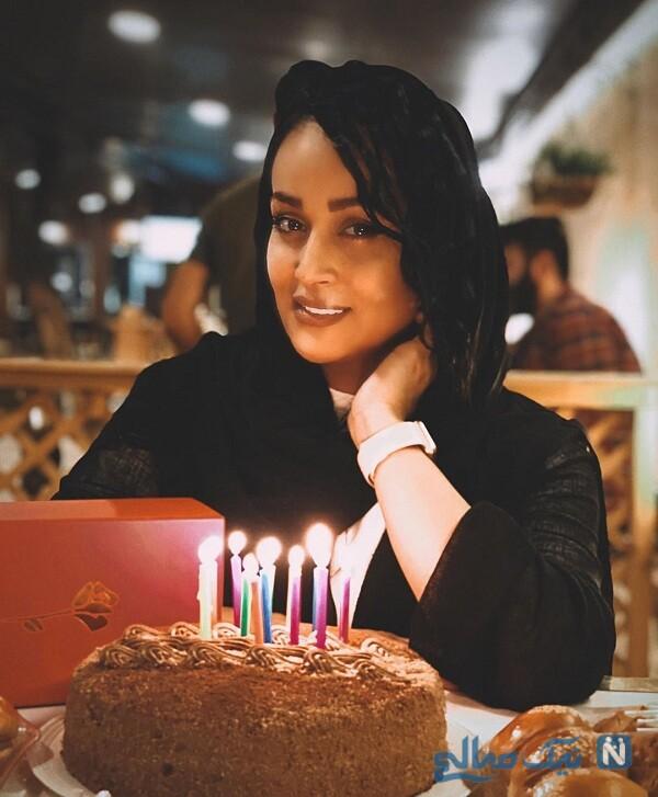 جشن تولد مونا شناس