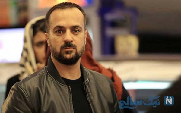 سلفی جدید احمد مهرانفر بازیگر سریال پایتخت و همسرش
