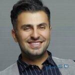 سلفی شاد علیرضا طلیسچی خواننده پاپ در خودرو لاکچری اش