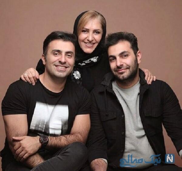 مادر و برادر خواننده معروف