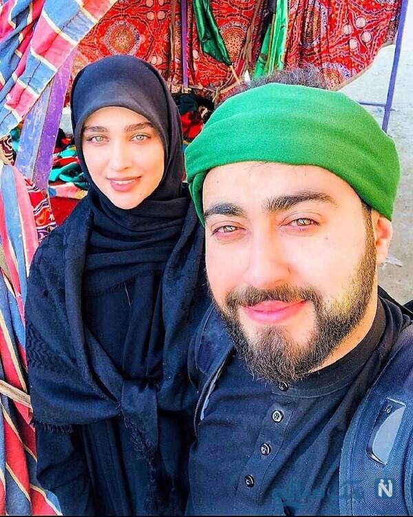 عکس جدید آناشید حسینی و امیرمحسن مرادیان