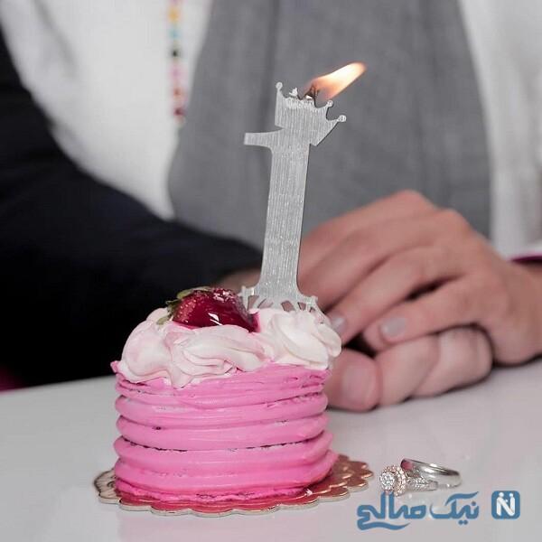 کیک عقد سوگل طهماسبی