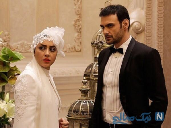 عروسی بهاره کیان افشار در فیلم بی وزنی