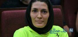 جشن تولد الهه منصوریان بانوی ورزشکار ایرانی با کیک خاص