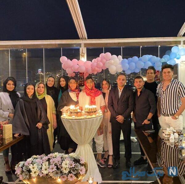 جشن تولد بانوی ووشوکار ایرانی