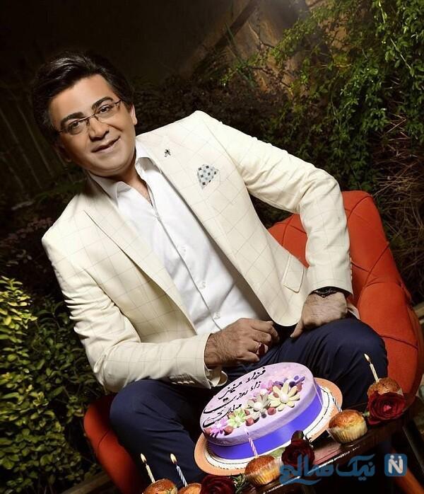 جشن تولد فرزاد حسنی