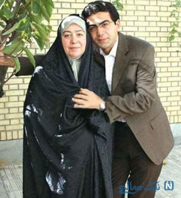 مادر فرزاد حسنی