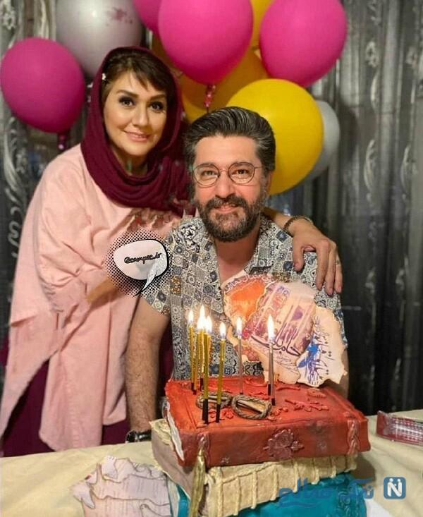 کیک تولد خاص امیرحسین مدرس
