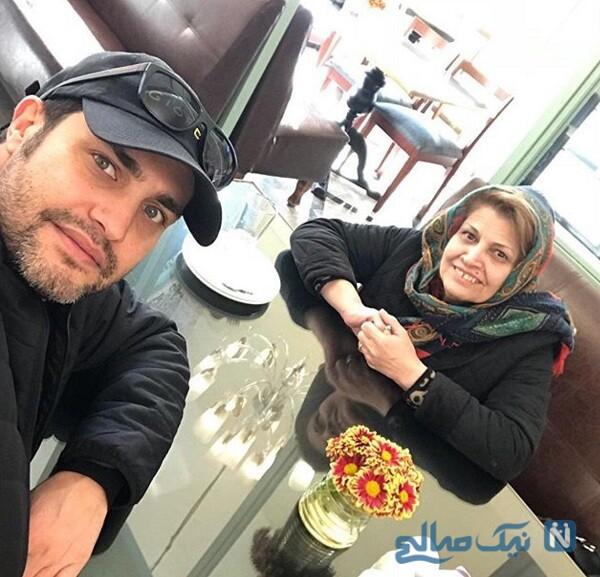 امیر محمد زند و مادرش