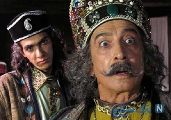 محمود پاک نیت و بازیگران نقش شاه