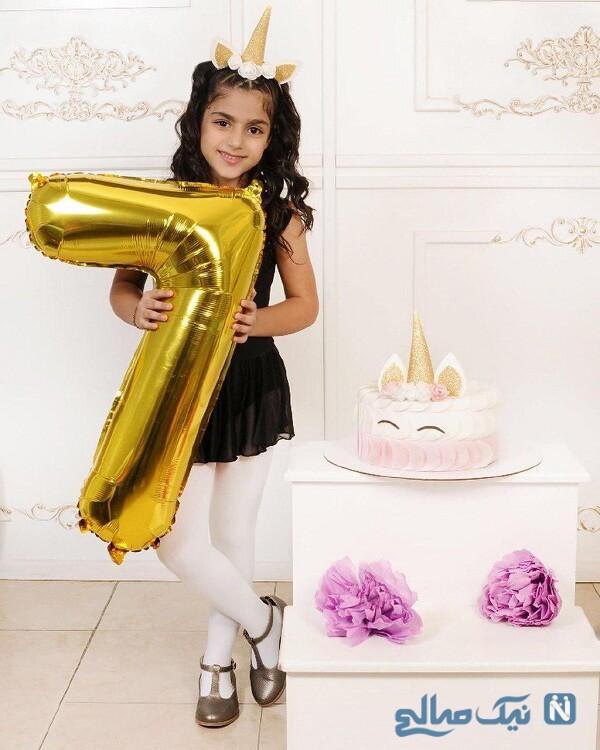 تولد دختر آرزو افشار