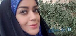 الهام چرخنده بازیگر معروف به عراق مهاجرت کرد