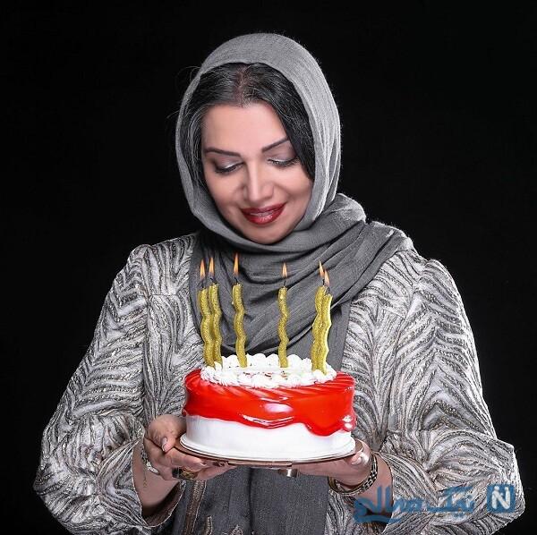 کیک تولد بازیگر معروف