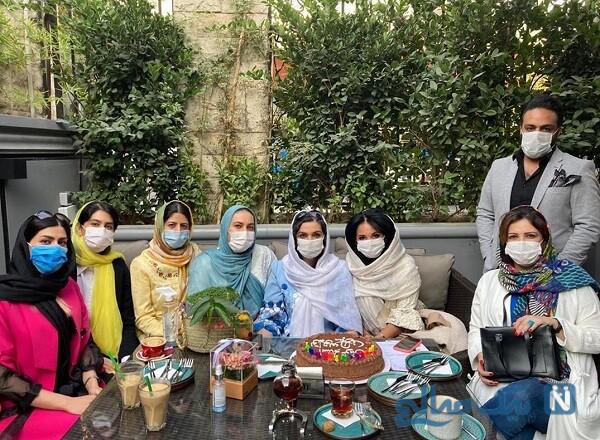 جشن تولد دوستانه الهام پاوه نژاد