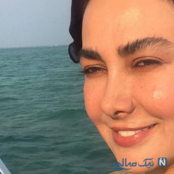 چهره بدون گریم آنا نعمتی بازیگر