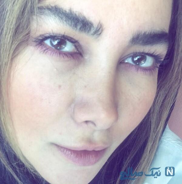 چهره دخترانه و ساده آنا نعمتی