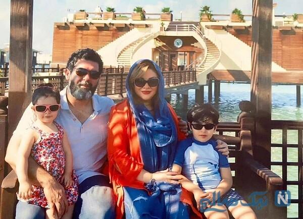 عکس خانوادگی مصطفی کیایی