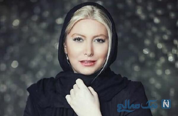 شیطنتهای فریبا نادری بازیگر زن در برنامه مهمانی شام ایرانی