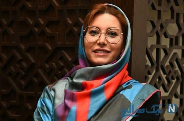 فریبا نادری در کنار گریمور مشهورش نیلوفر حسینی