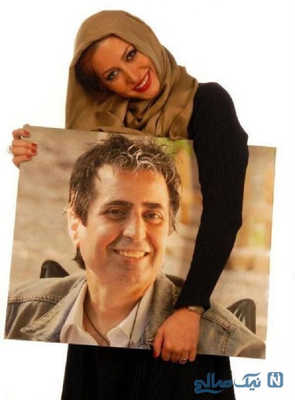 مسعود رسام همسر اول فریبا نادری