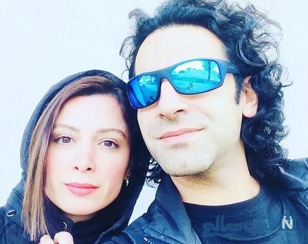فرناز رهنما بازیگر معروف و همسرش