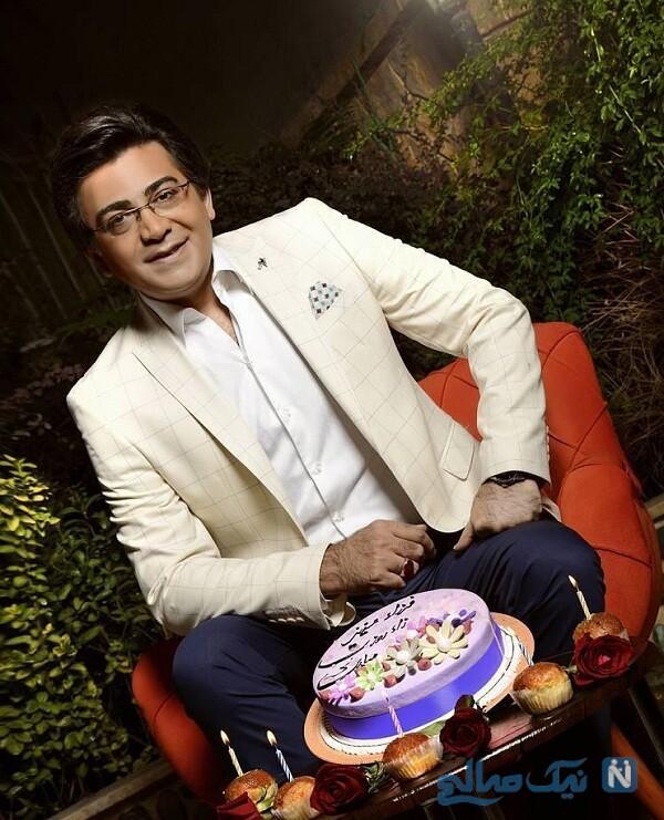 جشن تولد فرزاد حسنی بازیگر