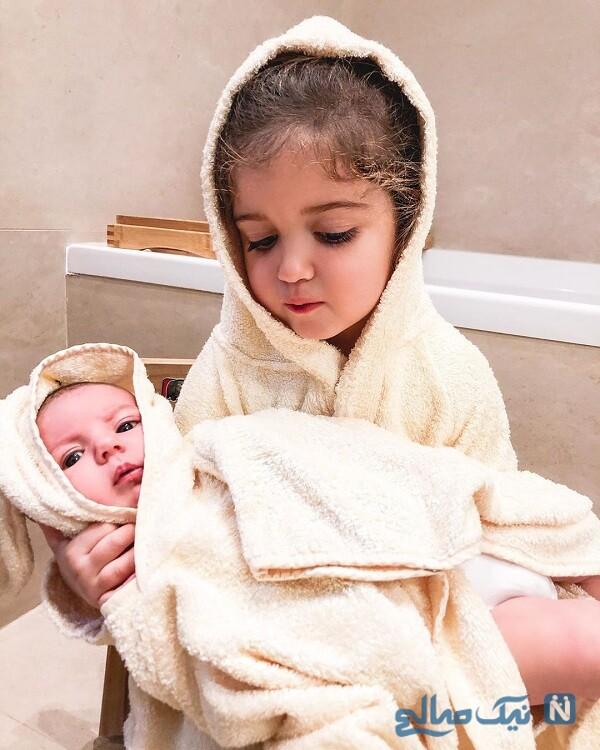 فرزند تازه متولد شده استراماچونی