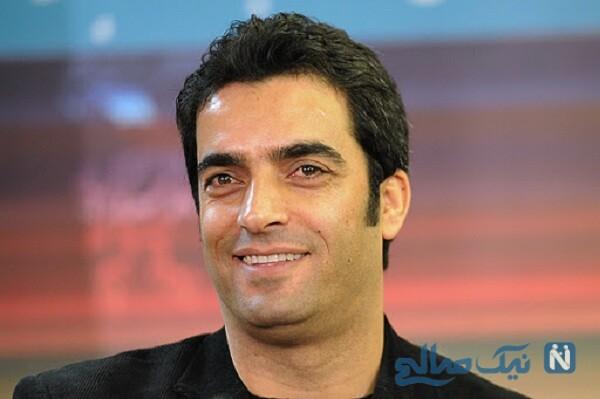 تصویر عجیب از منوچهر هادی و حامد بهداد در پشت صحنه سریال دل