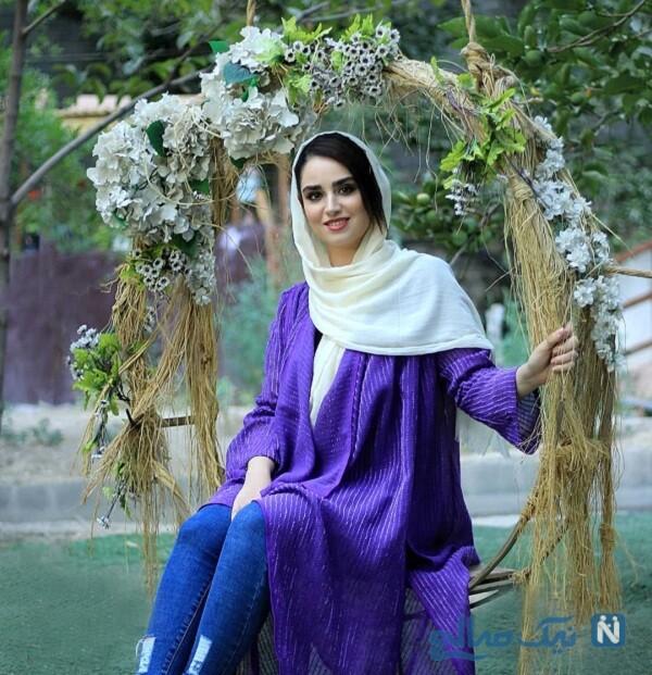 هانیه غلامی هنرپیشه جوان