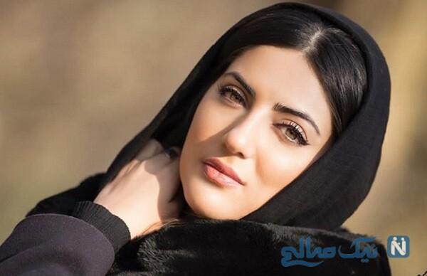 هلیا امامی بازیگر سریال ده نمکی در مانتو فروشی
